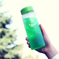 Фитнес бутылочка My Bottle матовая с чехлом, фото 1