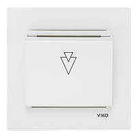 Карточный выключатель стандартный Viko Karre Крем