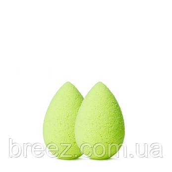 Набор 2 спонжа BEAUTYBLENDER mini зеленый, фото 2