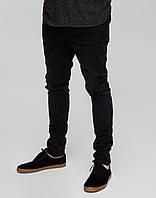 Джинси Pull and Bear - Черные с оттенком серого узкие (мужкие джинсы)