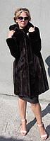 Шуба норковая с капюшоном Модель 200519, фото 1
