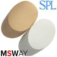 SPL Спонж 96475 латекс мягкий пенёчки белые, беж 2шт