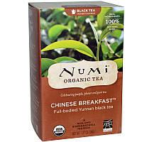 """NUMI Черный чай """" Китайский завтрак """" / Chinese Breakfast, 18 пакетиков"""