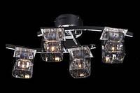 Небольшая потолочная люстра с пультом и подсветкой