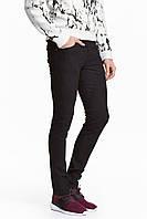 Джинси H&M - Черные узкие (мужкие джинсы)