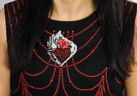 """Набор для вышивки бисером украшения на натуральном художественном холсте Паттернхолст """"Тайны сердца """""""