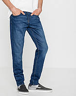 Джинси Pull and Bear - Slim Fit Washed Denim (мужкие джинсы)