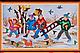 Набор для вышивки бисером на натуральном художественном холсте «Календарь. Времена года», фото 2