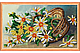 Набор для вышивки бисером на натуральном художественном холсте «Календарь. Цветы», фото 4