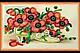 Набор для вышивки бисером на натуральном художественном холсте «Календарь. Цветы», фото 5