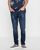Джинси Pull and Bear - Slim Fit Washed Blue Denim (мужкие джинсы)