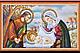 Набор для вышивки бисером на натуральном художественном холсте «Календарь. Библейские сюжеты», фото 2