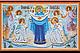 Набор для вышивки бисером на натуральном художественном холсте «Календарь. Библейские сюжеты», фото 5