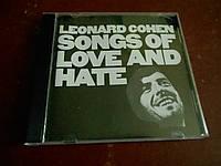 Leonard Cohen Songs Of Love And Hate CD фирменный б/у