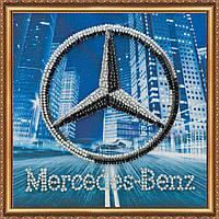 Набор для вышивки бисером на натуральном художественном холсте Mercedes-Benz
