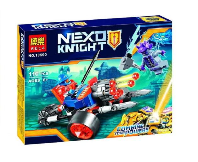 Конструктор Bela серия Nexo Knight 10590 Сторожевая королевская артиллерия (Аналог Lego Nexo Knights 70347)