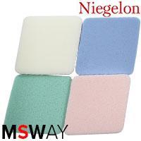 Niegelon Спонж 06-1246 латекс ромбики цветные 4шт