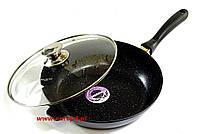 Сковорода гранитная 28 см индукция Edel Хофф 7518