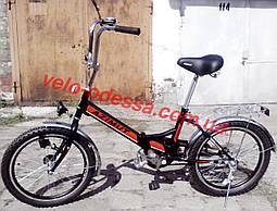 Дорожный складной велосипед 20 дюймов 2009-1 с фарой Azimut