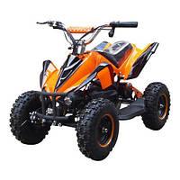 Квадроцикл детский Profi HB-6 EATV800B-7, 800W, 30км.ч.,металл, оранжевый