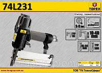 Степлер для гвоздей 15-50мм, скоб 10-40мм., TOPEX 74L231