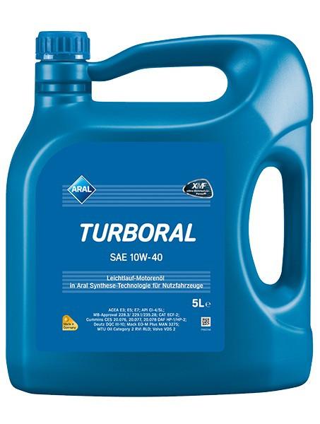 Моторное масло Aral 10w40 Turboral 5л