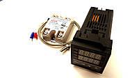 Контроллер температуры REX-C100 (PID-контроллер)КОМПЛЕКТ