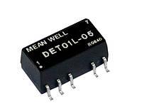 Блок питания Mean Well DET01L-15 На плату 1 Вт, 15 В, 0.033 А (DC/DC Преобразователь)