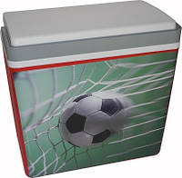 """Контейнер изотермический пластиковый S&F 25, дизайн """"Футбольный мяч"""""""