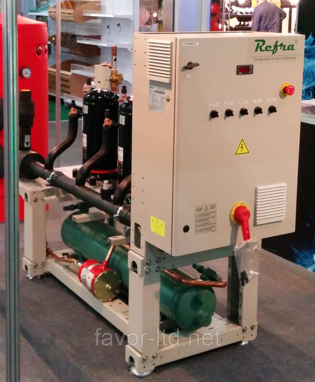 Холодильная установка на базе спиральных компрессоров