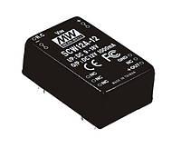 Блок питания Mean Well SCW12A-12 На плату 12 Вт, 12 В, 0.1 А (DC/DC Преобразователь)