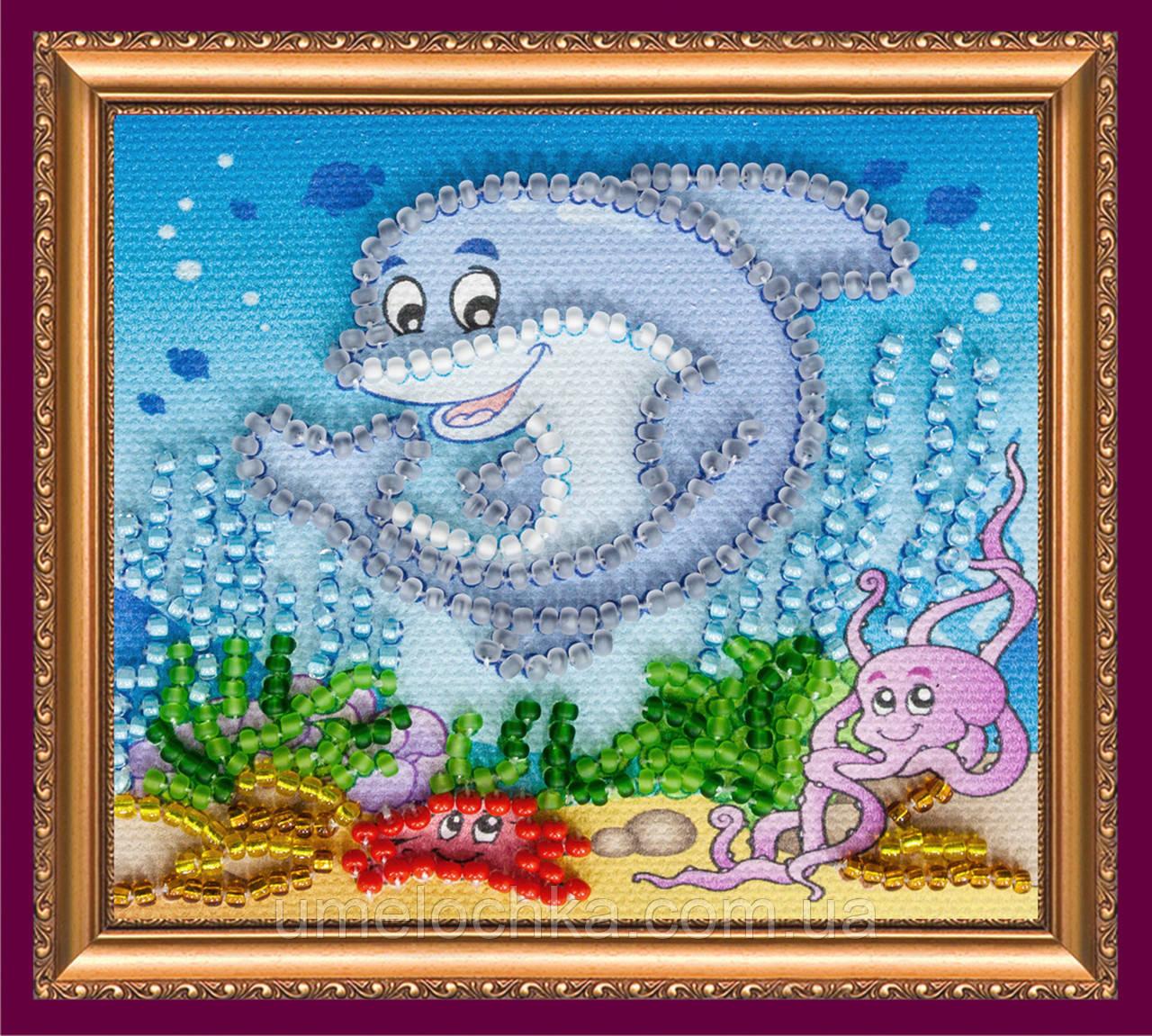 Набор для вышивки бисером «Магнит» Подводное царство