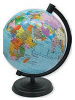 Глобус Земли с политической картой 220 мм