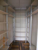 колонная система для гардероба
