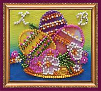 Набор для вышивки бисером «Магнит» Пасхальный натюрморт-3