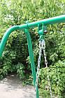 Качели садовые, лавка на цепях., фото 8
