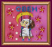 Набор для вышивки бисером «Магнит» Знак Зодиака «Овен»