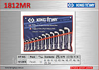 Набор ключей Г-образных 12 шт, 8-24мм., KING TONY 1812MR