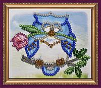 Набор для вышивки бисером «Магнит» Сова-4