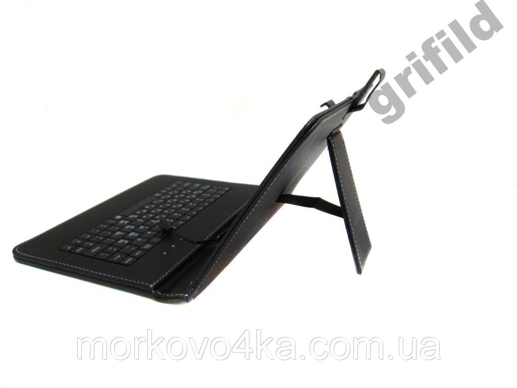 Чехол клавиатура для ПК планшета 9,7 Rus Mini и Micro Usb