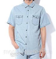 Джинсовая рубашка Montana светло-голубая, фото 1