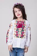 Вышиванки для девочек. Вышитые детские платья.