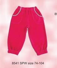 Штаны велюровые для девочки розовые (Nicol, Польша)