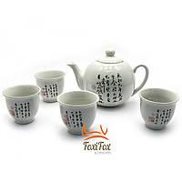 Чайный сервиз в восточном стиле White Sakura