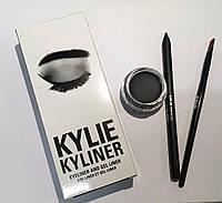 KYLIE JENNER Гелевая подводка + карандаш + кисть kylie cosmetics kyliner Kit Black, фото 1