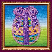 Набор для вышивки бисером «Магнит мини» Пасхальное яйцо-1
