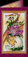 Набор для вышивки бисером «Открытка» Пасхальный сюжет-6