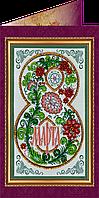Набор для вышивки бисером «Открытка» 8 Марта-8