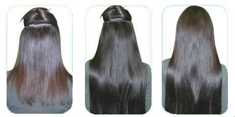 волосы на заколках инструкция