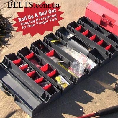 Зручний ящик – скринька для інструментів Рол енд Стор Roll-n-Store